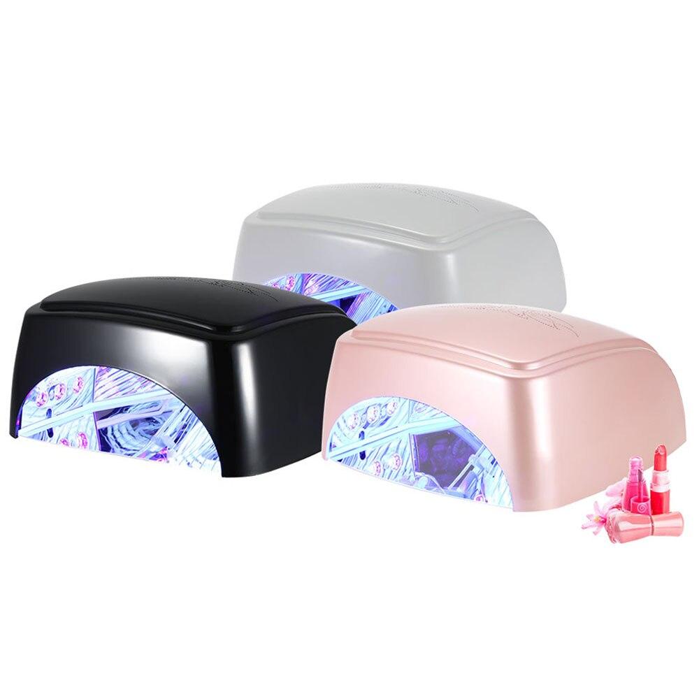 Séchoir à ongles 60 W pour LED à ongles lampe UV pour manucure Gel lampe à ongles lampe de séchage pour vernis Gel
