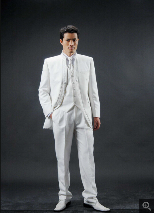 Aliexpress.com : Buy Hot Sale Ivory Custom Made Men&39s Wedding Suit