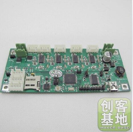 ФОТО 3 D printer accessory reprap Generation 6_Electronics board IC:ATMEGA644PA 12V   top quality