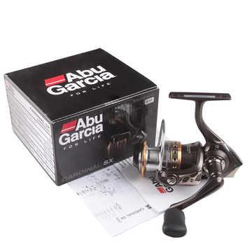 100% Original Abu Garcia Brand Cardinal Card SX 1000 - 4000 5.2:1 6BB Fishing Spinning Reel Saltwater Lure Fishing Reel