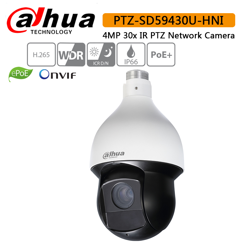 Original SD59430U-HNI 4Mp PTZ red IR PTZ velocidad Domo IP cámara para reemplazar SD59230U-HNI auto seguimiento original DH-SD59430U-HN