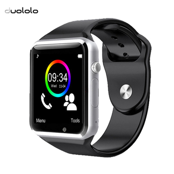 DUOLOLO-A1 Bluetooth Smart Watch With Passometer Camera Support SIM TF Card fashion SmartWatch For Xiaomi Huawei Android Phone