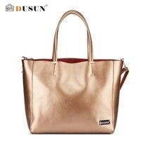 DUSUN Brand Genuine Leather Women Bags Casual Handbags Messenger Bag Large Shoulder Bags Designer Vintage Bag