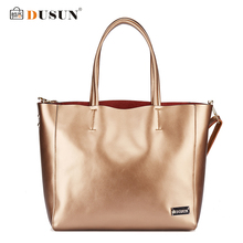 DUSUN Marke Echtes Leder Frauen Taschen Casual Handtaschen Messenger Tasche Große umhängetaschen Designer Bolsas femininas