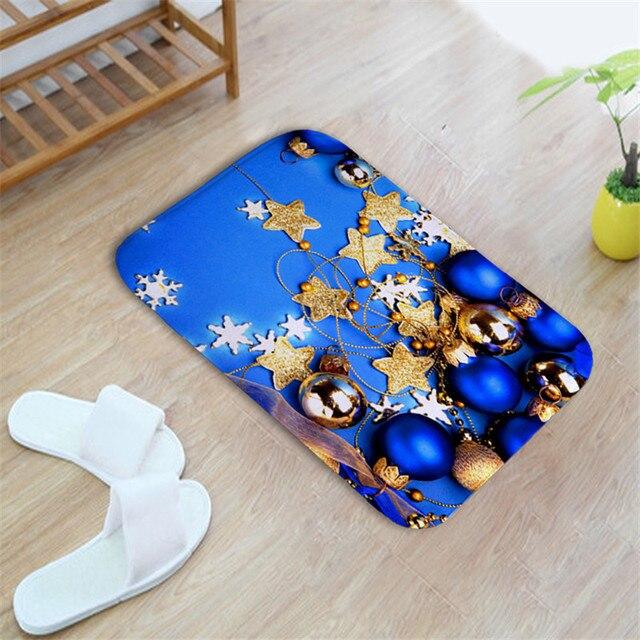 Heißer Verkauf Weihnachten Dekor Küche Fußmatten Badezimmer Teppich ...