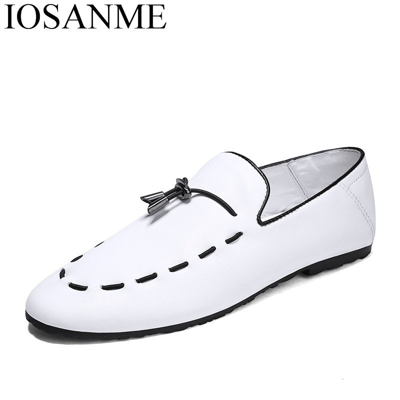 mens leisure driving leather shoes folding comfortable luxury italian brand male footwear spring summer casual loafer flats man merkmak spring autumn men shoes casual male genuine leather brand walking driving high quality comfortable footwear man flats