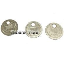 Jauge pour bougie d'allumage 0.6-2.4MM, outil de mesure, Type de pièce de monnaie