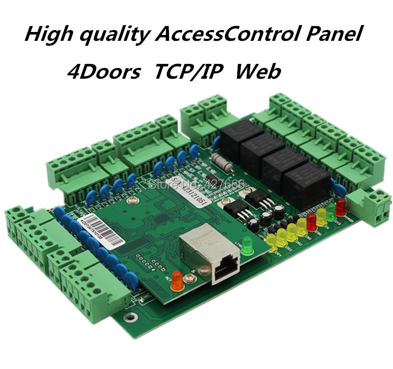 ФОТО Freeshipping  4 door access controller 4 Door Access Control Panel Access Control Board 4 Doors Access Control System