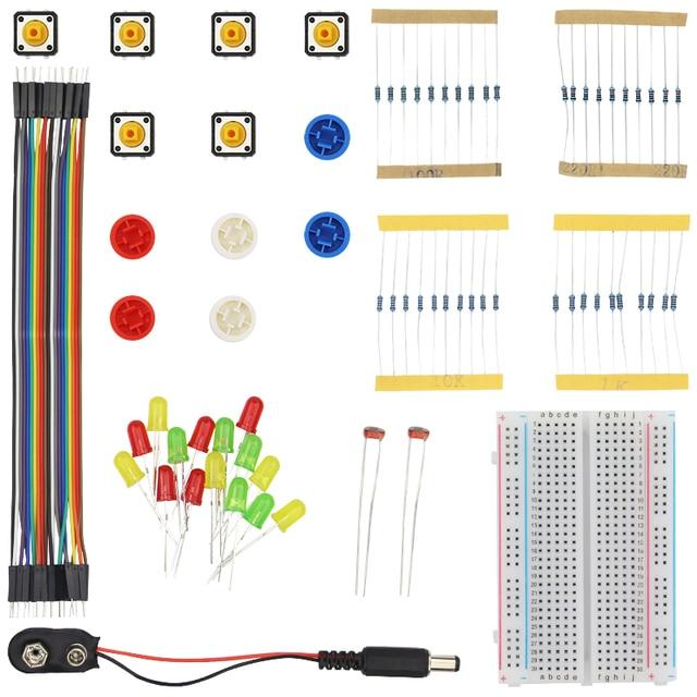 Portable Basic Kit For Raspberry Pi 3 Resistor Jumper Wire