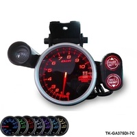 Pivot RACER GAUGE 80MM Tachometer 11000RPM 7 Color Setting TK GA375DI 7C