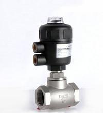 1/2 «2/2 способ пневматический клапан управления глобус угол сиденья клапан нормально закрытый 50 мм PA привод