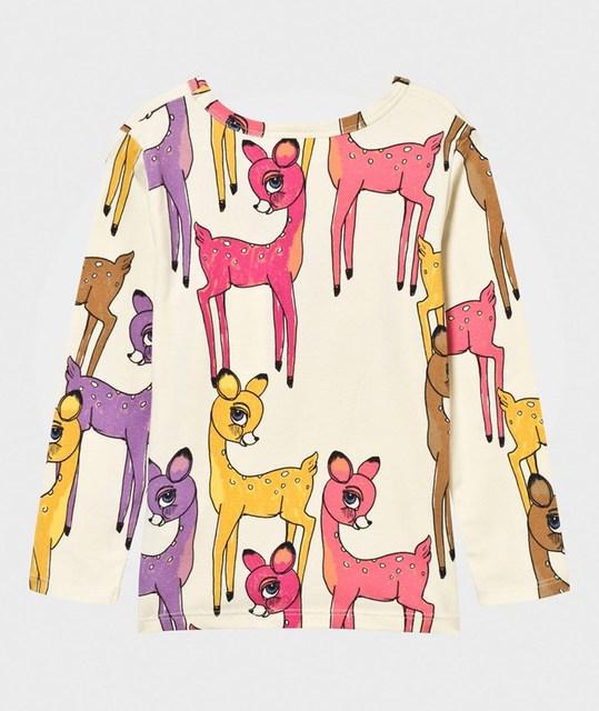 2016 Invierno AutumnWHOSEBABY Niñas Huevas Ciervos Sika Animales de Impresión de Manga Larga Camiseta Para Niños Niños de las camisetas Tee-shirt Enfant