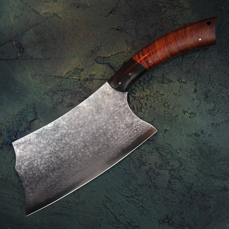 FZIZUO 7 5 VG10 Damascus Steel Chinese Cleaver Full Tang Chef Knife Vegetable Meat Knives Kitchen