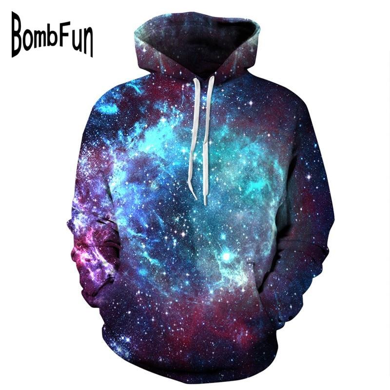 BombFun vīriešu un sieviešu kostīmi Ikdienišķa galaktika 3d - Vīriešu apģērbi