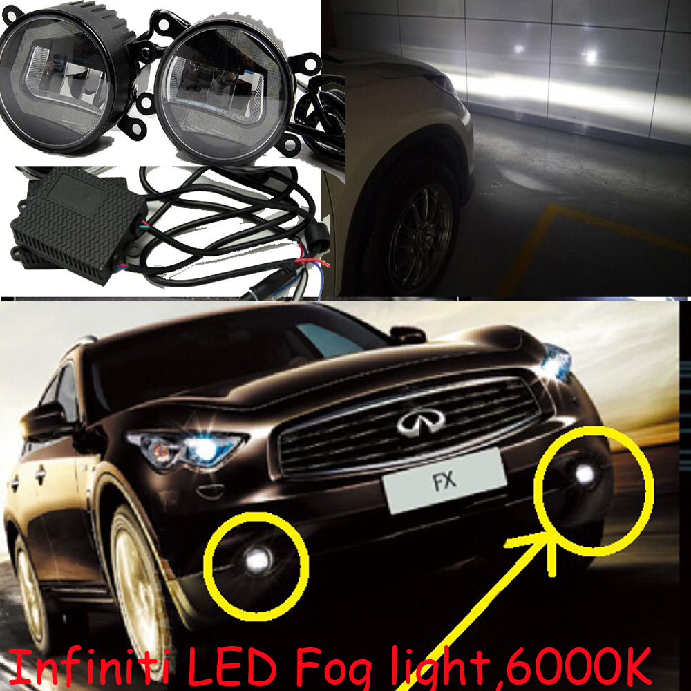 LED,Infiniti fx50 daytime light,QX70 fog light,fx37 day lamp;FX30d fx37 fx50 QX70D QX80 AWD;QX 80 RWD ковры seintex infiniti fx 37 50 qx70 2008 468