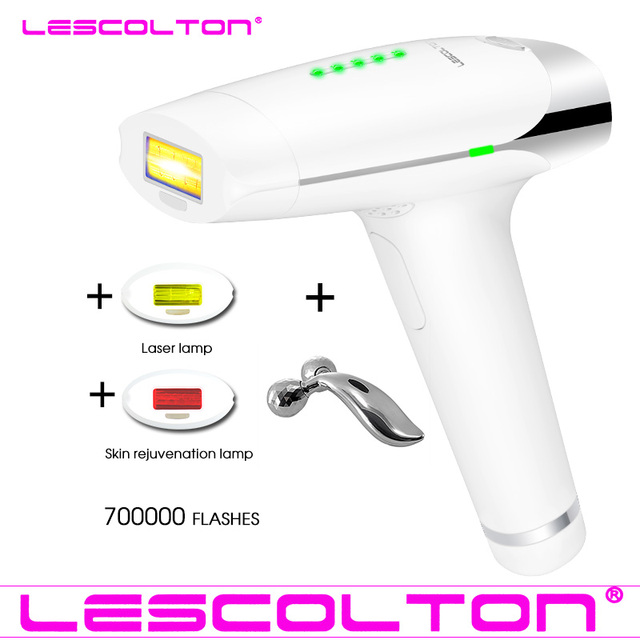 Lescolton 700000 Times Laser Hair Removal Machine For Body Face Bikini Women Permanent Safety IPL Depilatory Shaver Tool