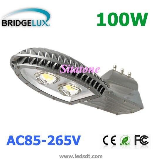EntrüCkung Neue 100 Watt Led-straßenleuchte Ac85-265v 130-140lm/w Led 2*50 Watt Led-straßenleuchte 3 Jahre Garantie Straßenlampen Außenbeleuchtung
