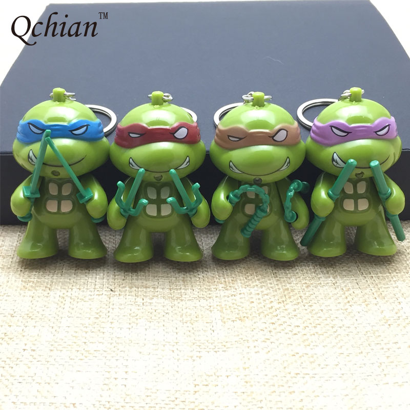 Teenage Mutant Ninja Turtle Keychain for Women Men Key Chains Holder Ring uncanny x men volume 5 the omega mutant