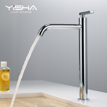 Sally full copper stage basin faucet used by heightening the tap of the basin that wash a face basin faucet toilet