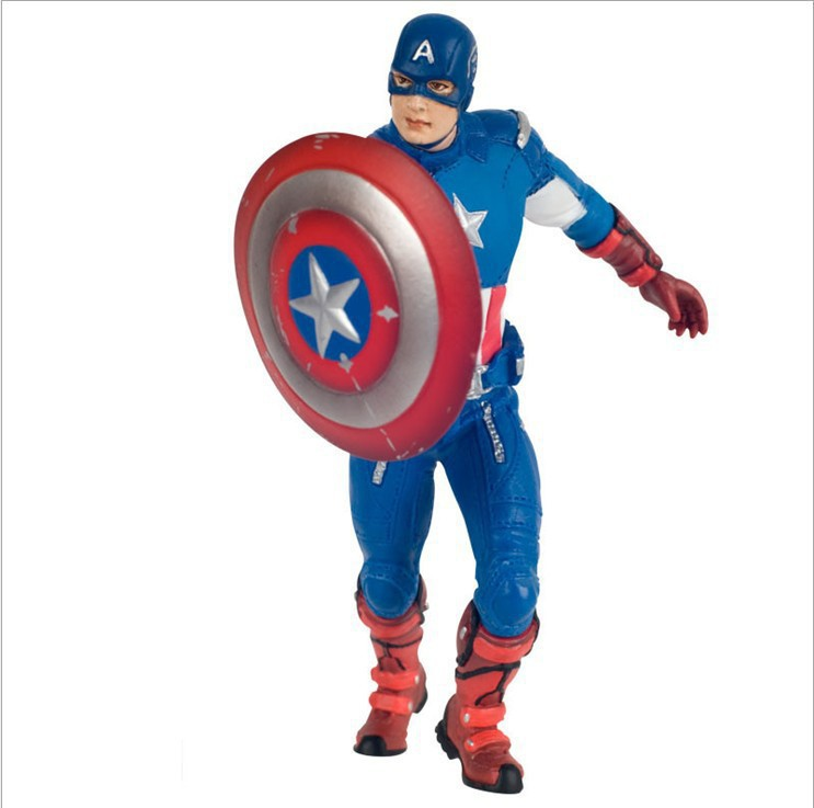 NEW hot 12cm avengers Loki Captain America collectors action figure toys christmas doll poptoys 1 6 soldier accessories the avengers loki loki windbreaker suit with cane for 12 action figure doll toys