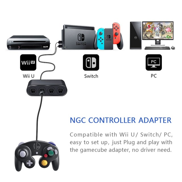DOBE Controller Adapter for Nintendo Switch