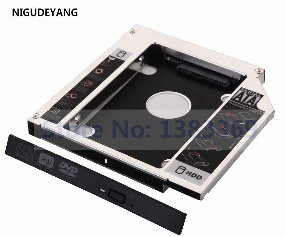 Nigudeyang 2nd disco rígido hdd ssd baía óptica caddy quadro para acer aspire 5742z 4741g 4743g 5741g 5742g 5750g 5755g g