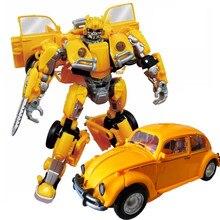 BMB ווי ג יאנג החדש שינוי SS סרט רובוטים רכב צעצועי אנימה פעולה דמויות דגם דינוזאור עיוות צעצועי ילדים ילד מתנה
