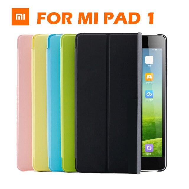 huge discount 0566d 9ba3e US $15.99 |Original Xiaomi Mipad Flip Cover For Xiaomi Mi Pad 1 MIPAD 1  Smart Wake up Flip Stand Case Leather Cover Flip Cover 7.9 Inch-in Flip  Cases ...
