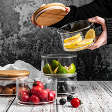Three Floors Storage Glass Jar with lid Minimalist Candy Food Container Kitchen Organizer Home