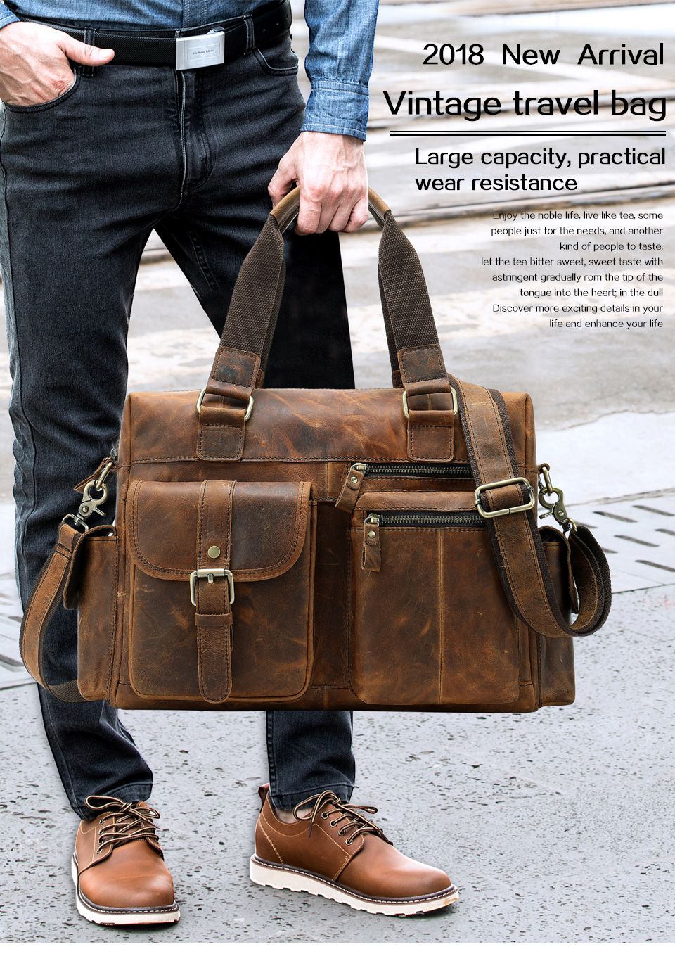 HTB17lrIahrvK1RjSszeq6yObFXab WESTAL men's briefcase leather laptop bag men shoulder bag male briefcases handbags office bags for men business porte document