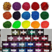 Lowest 50g  Fine Glitter Powder .008 Starry Nail Holographic Laser Glitters Dust Manicure Art Decorations