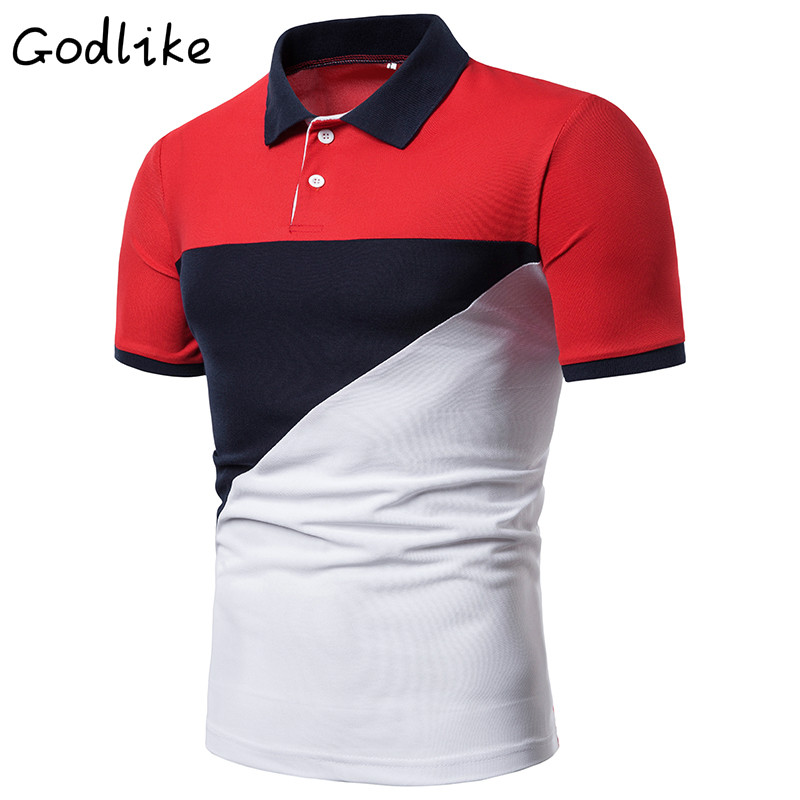 Men 2019 summer fashion Camisa   Polo   shirt high quality short sleeve Men's   Polo   shirt brand breathable