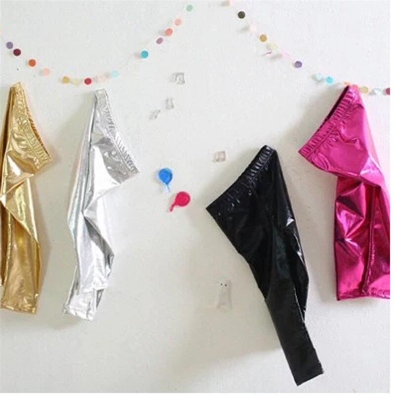 Heiße Goldmädchen-Gamaschen-Großhandelskinder, welche die - Kinderkleidung - Foto 1