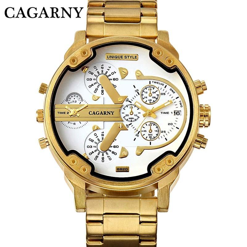Relógio de pulso de quartzo masculino relógio