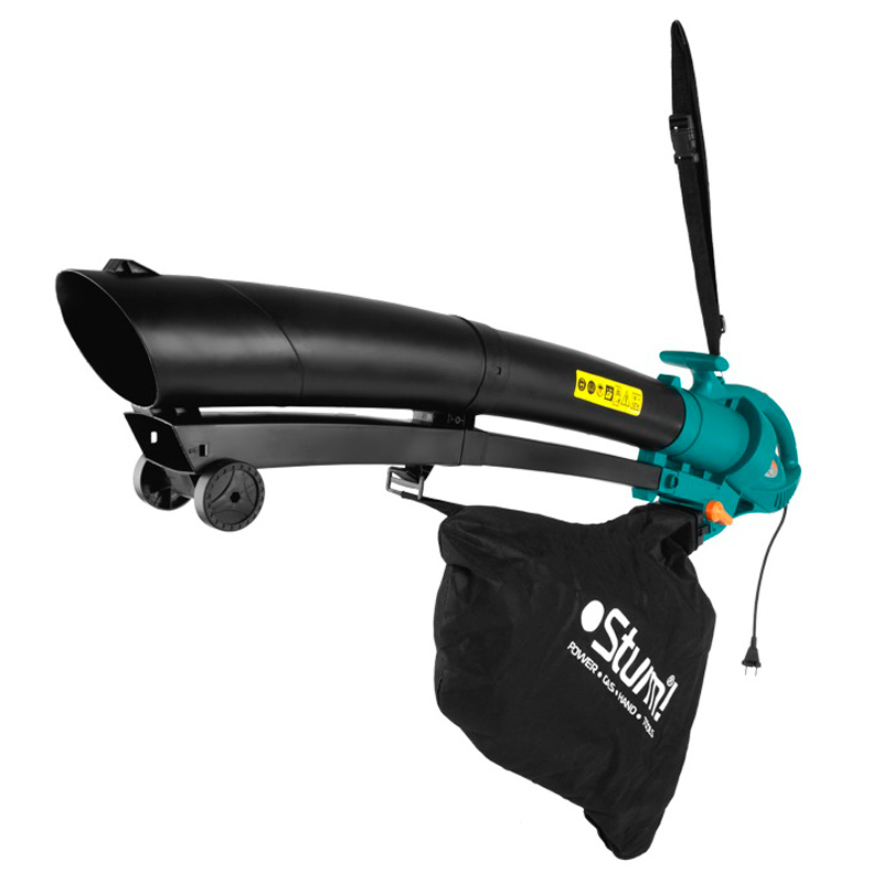 Vacuum Cleaner garden Sturm! GBE2250 (Power Of 2200 W, 13000 rev/min, производи. 13 cubic meters/hour, мусоросборник 45 L, mulching) w bitzan zoological garden