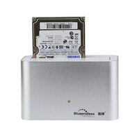 알루미늄 hdd 데이터 복구 USB 3.0 5gbps hdd 캐디 2.5 sata 외부 hdd 도킹 스테이션 4 테라바이트 3.5