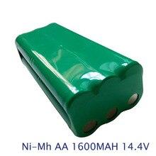 NOUVEAU 14.4 V 1600 mAh 1.6AH AA Ni-MH nimh batterie Pack Aspirateur Robot de balayage Utiliser pour libero m606 vbot T270 S30C VUN T285D