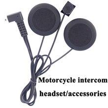 Moto rcycle Интерком аксессуары мягкие наушники микрофон для fdcvb T-comvb TCOM-sc Коло Moto шлем BT гарнитура