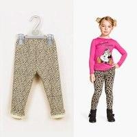 Fleece Lined Kids Leopard Print Leggings Pants Children S Tights Baby Pantalones Leggins Nina Infantil Girls
