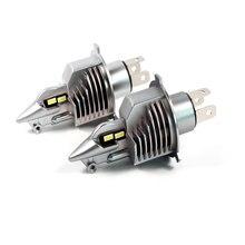 TXVSO8 Mini H4 LED headlight bulbs 6000K CSP chips 10000Lm fog lights 70W led lampen 12V motorcycle headlamp For Passat B6 BMW