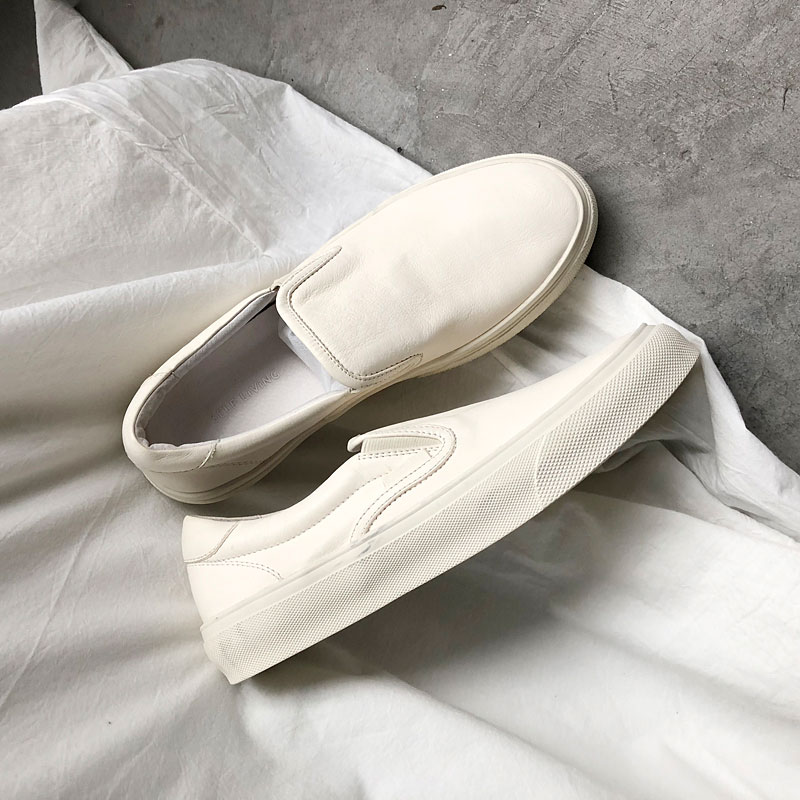 Handmade Moccasins Shoes Men Flats Slip On Genuine Leather Men Shoes Luxury Brand Designer Men Shoe Italian Loafers Casual Flats in Men 39 s Casual Shoes from Shoes