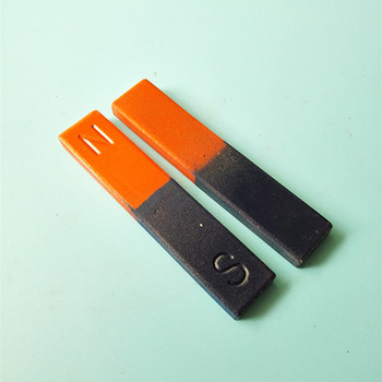 20pcs Magnetic Teaching Tool Magnet Bar type magnet 100x20x8 mm Toy magnet / office magnet Pole Detection фото