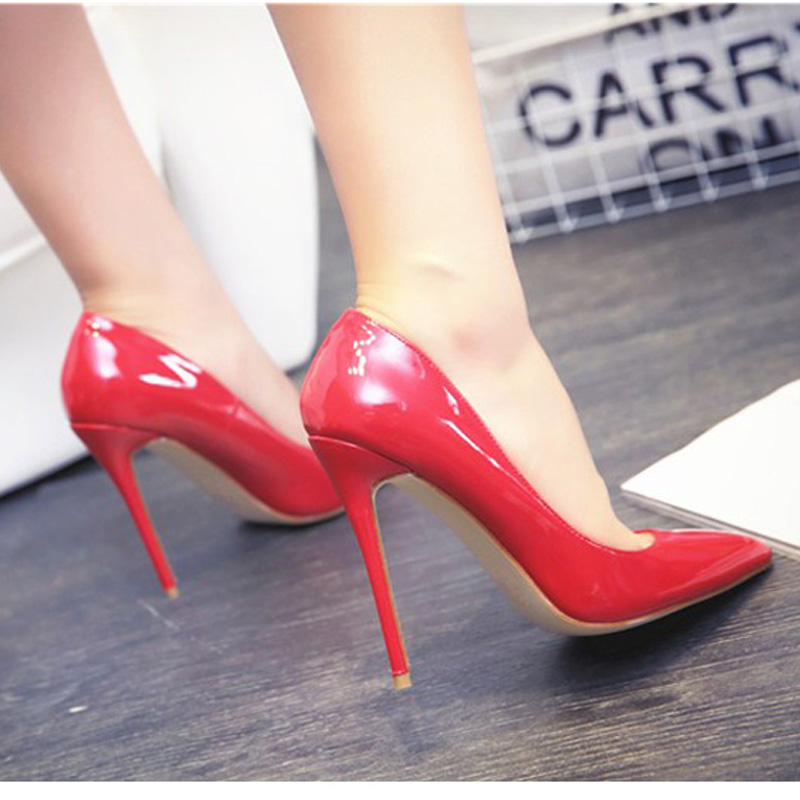 ff4798e3f44 MERUMOTE Women's Classic Pointed Toe Thin High Heels For Lady ...