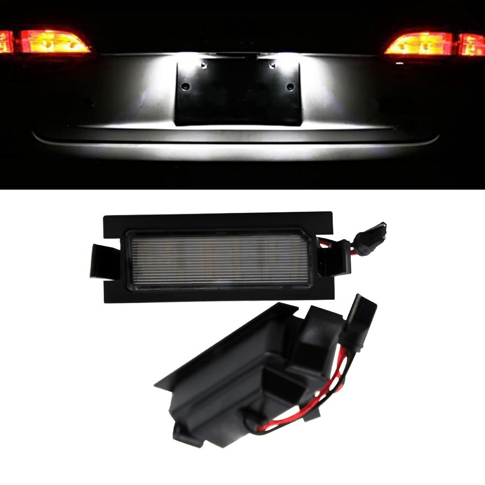 HOPSTYLING 2x Canbus 18 SMD lemputės numerio ženklo apšvietimas - Automobilių žibintai - Nuotrauka 5
