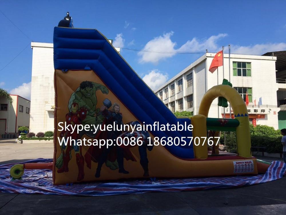 2016 nueva diapositiva inflable directa de la fábrica, araña - Man - Deportes y aire libre - foto 4
