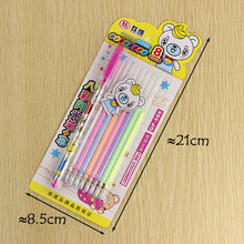 1 Pen and 8 Refill/set Colorful Gel Pen DIY Decoration for Color Pens