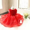 Vestidos Infantil Новорожденного Dress Рукавов Младенческой Партия Dress For Girls Princess Dress Детская Одежда Лето Tutu Dress