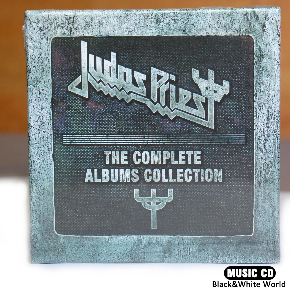 цена на Judas Priest CD box --The Complete Albums Booklets Full Box Set 19 CD China Factory New Sealed Edtion