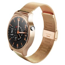 Newest GW01 Smart Watch Full Round Screen WristWatch Heart Rate Monitor Smartwatch Bluetooth 4.0 For Android IOS Phones