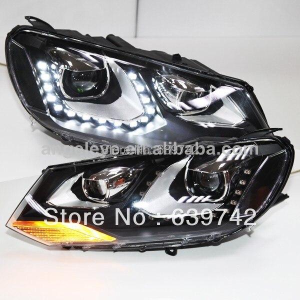 VW Touareg LED angyalszemű fényszóróhoz, vetítőlencsével, - Autó világítás